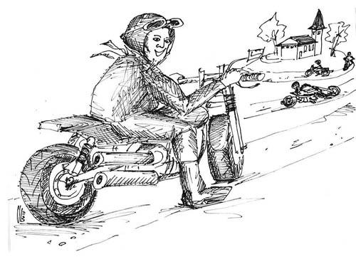 Motorrad Gottesdienst