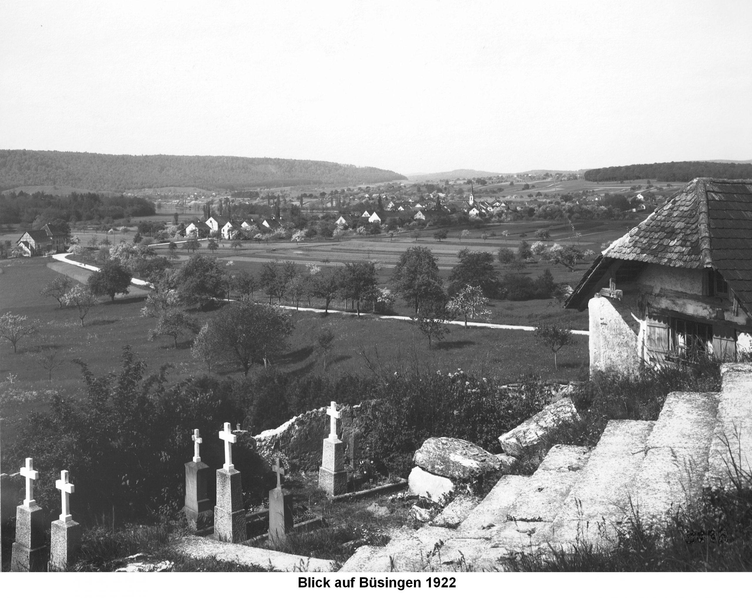 Historisches Bild der Bergkirche St. Michael