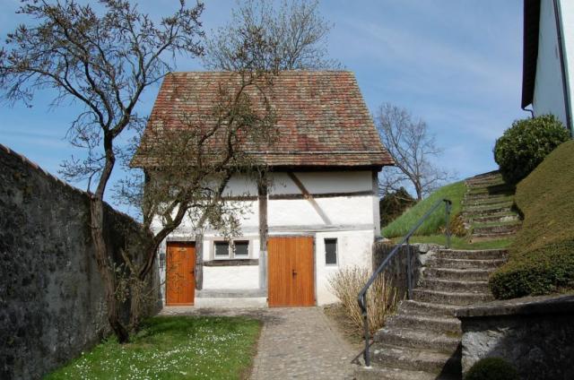 Die Bergkirche im Frühling