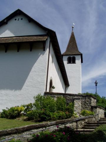 Die Bergkirche im Sommer